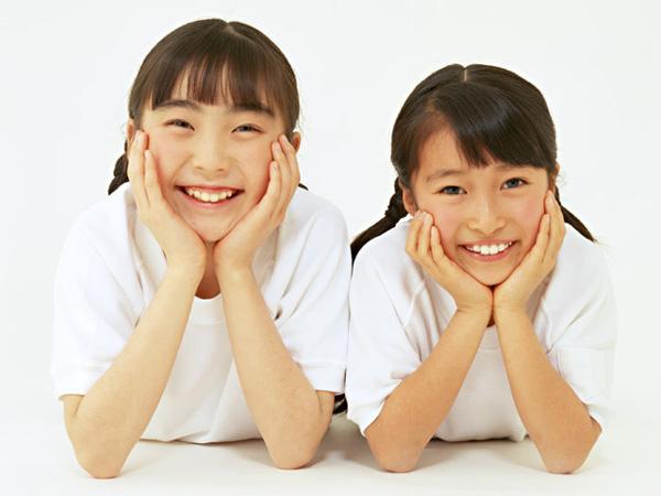 芳絵と妹の娘