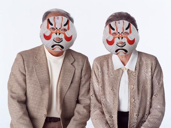 歌舞伎フェイスマスク