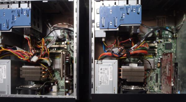 ML110本体内部