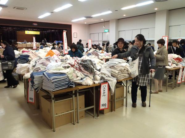 コンテックス タオル 即売会 2015