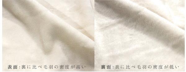 埃が出にくい、ふんわり暖かな綿毛布