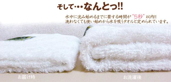 竹織物語のバンブーレーヨンは今治タオル