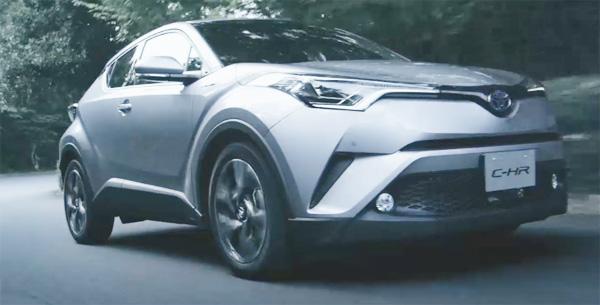 トヨタ新型SUVのC-HR