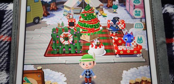 どうぶつの森クリスマスバージョン