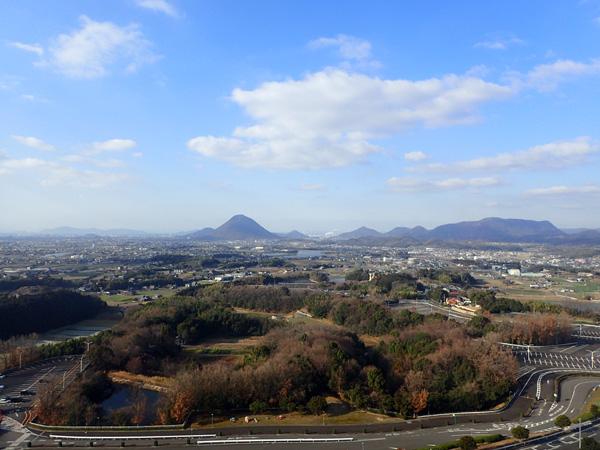 レオマワールド大観覧車からの眺め