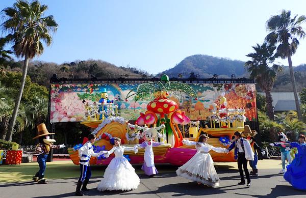 レオマワールドのファンタスティックパレード