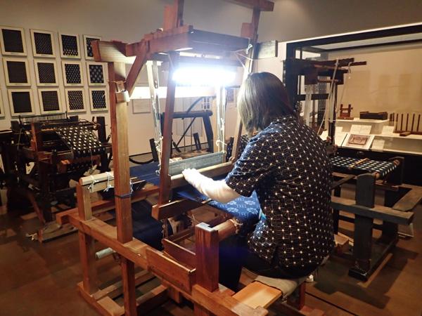 愛媛県歴史文化博物館 伊予かすり絣文様の世界