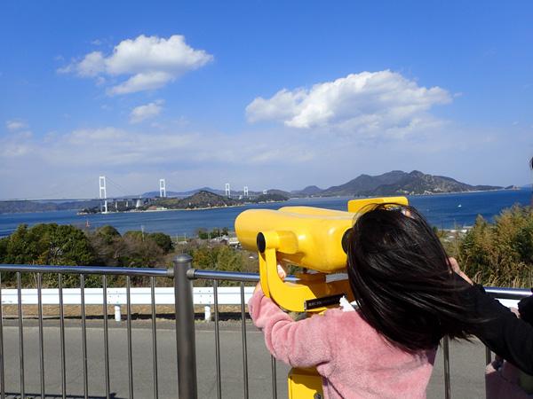 来島海峡saからの眺め