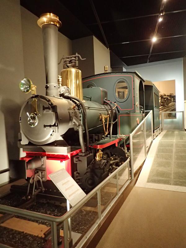 伊予鉄道1号機関車