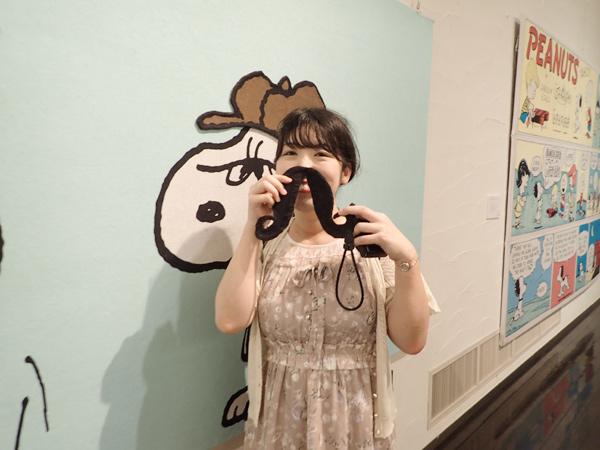 スヌーピータオルアート展2019の様子