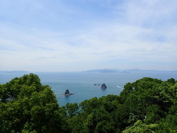 愛媛鹿島展望台からの眺め