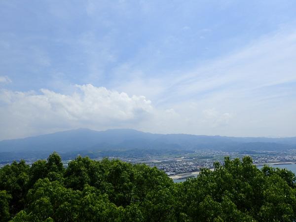 鹿島展望台からの眺め