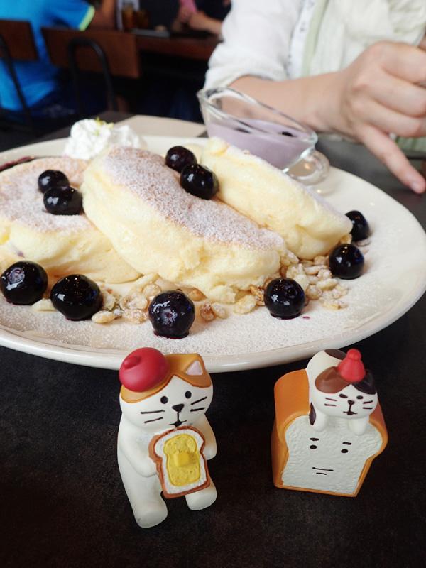 Amelieブルーベリークリームチーズパンケーキ