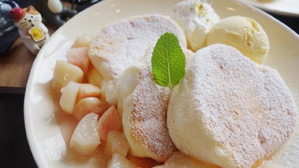 Amelie桃のパンケーキ