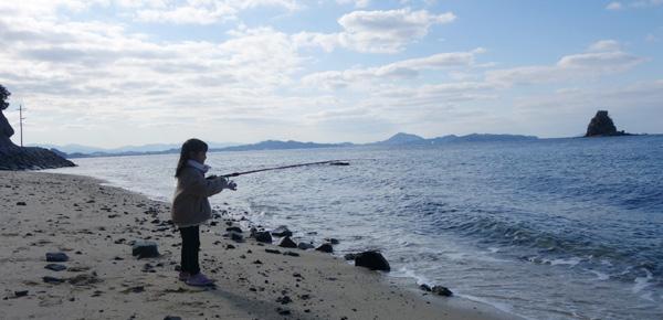 北条鹿島で投げ釣り