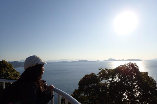 北条鹿島展望台からの眺め