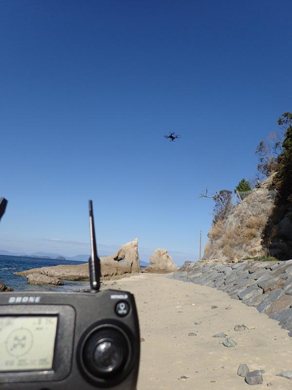 北条鹿島でドローン空撮