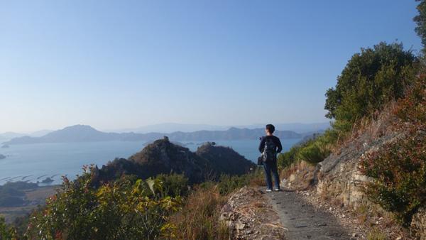 鷲ヶ頭山と安神山の登山ルート