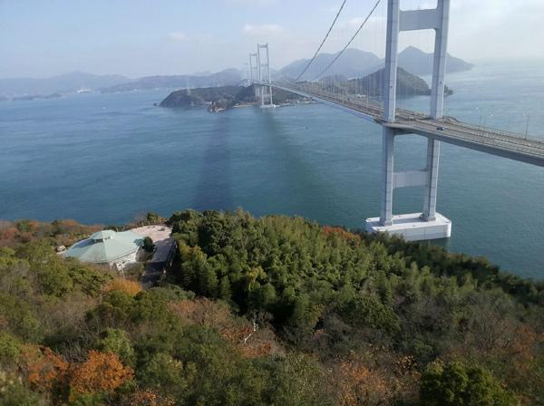 糸山展望台からの眺め(ドローンtello)