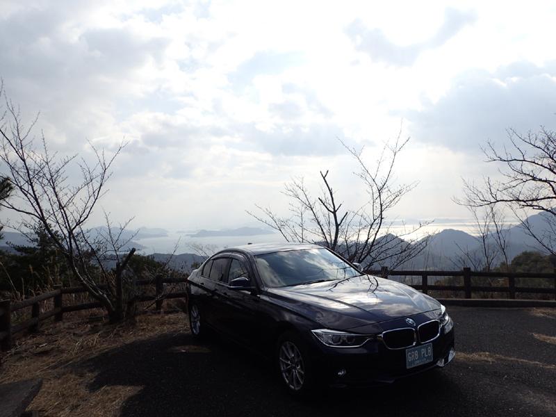 鷲ヶ頭山山頂駐車場