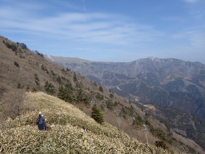 桑瀬峠付近からの景色